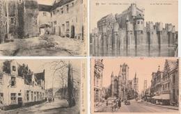 17 / 9 / 296   -  LOT  DE  7  CPA  DE  GAND  ( Flandre Orientale ) - Belgique