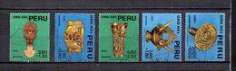 Perú   1966  .-  Y&T  Nº   472/476 - Peru