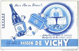 -BUVARD -  BASSIN DE VICHY   état LUXE - Food