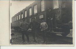 AK Bahn, Brüssel 7.1.19 - War 1914-18
