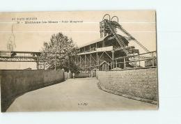 MONTCEAU LES MINES : Puits Maugrand. 2 Scans. Edition B F Au Pays Minier - Montceau Les Mines