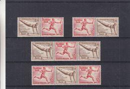 Allemagne - Empire - Michel W 107 / 10 ** - MNH - Sport - Athlétisme - Jeux Olympiques De 1936 - Flamme - Valeur 84 &eur - Ungebraucht