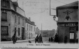 95 LE THILLAY - Mairie Et Télégraphe - Autres Communes