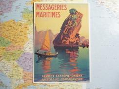 Messageries Maritimes REPRODUCTION - Illustratori & Fotografie