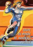 """FRANCE 2007 : Encart 1er Jour """" COUPE DU MONDE DE HANDBALL FEMININ """" N° YT 4118. Voir Les 2 Scans. - Handball"""