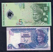 Malesia Malaysia1 + 5 Ringgit F.d.s. LOTTO 025 - Malesia
