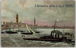 52572251 - Il Garibaldino Intima La Resa Dii Tripoli - Barche