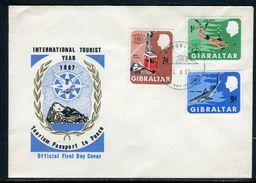 Gibraltar - FDC En 1967 - Ref S20 - Gibraltar