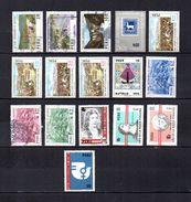 Perú   1974-75  .-  Y&T  Nº   599/601-602-603/606-607-608/610-611/614 - Peru