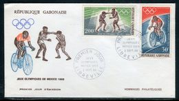 Gabon - FDC En 1968 , Jeux Olympiques De Mexico - Ref S23 - Gabon