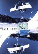 "FRANCE 2002 : Encart 1er Jour "" J.O. DE SALT LAKE CITY "" N° YT 3460. Voir Les 2 Scans. - Winter 2002: Salt Lake City"