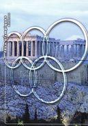 """FRANCE 2004 : Encart 1er Jour De 4 Pages """" J.O. D'ATHENES """" N° YT BF 73. Voir Les 3 Scans. - Zomer 2004: Athene"""