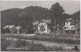 AK - OED (Waldegg) -  Teilansicht Mit Gasthaus Zur Schmiede 1962 - Wiener Neustadt