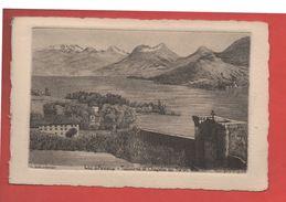 2138 - ANNECY - Le Lac, Talloires Et Chapelle Du Toron -  Eau Forte Originale - G.Schlumberger - Recto-verso) - Annecy
