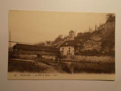 Carte Postale -  SUISSE  - Fribourg - Le Pont De Berne (288/130) - FR Fribourg