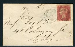 Grande Bretagne - Petite Enveloppe De Londres En 1858 - Ref S53 - 1840-1901 (Regina Victoria)