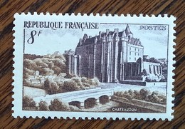 France - YT N°873 - Château De Châteaudun - 1950 - Neuf - France