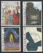2141/2144 Culturele Uitgifte Oblit/gestp Centrale - Belgique