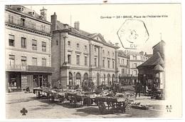 BRIVE (19) - Place De L' Hôtel-de-Ville - Ed. M.T.I.L. - Brive La Gaillarde