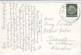 Special Eschenlohe Postmark On Eschenlohe Und Loisachtal Old Postcard Travelled 193? B170907 - Alemania