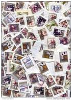 PAYS-BAS 100 Grammes NOEL CHRISTMAS AVEC SURTAX Sur Petit Fragments 400 Tembres. TRÈS SPECIAL!! - Kilowaar (max. 999 Zegels)