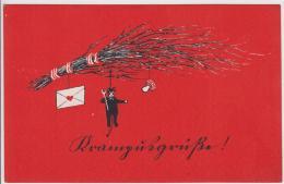 AK - KRAMPUSGRÜSSE 1954 - Feiern & Feste