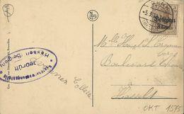 Genck    Etang Du Moulin  -  Prachtige Kaart!   1919  Naar  Hasselt - Genk