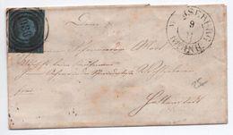 ENVELOPPE De MERSEBURG (ROYAUME DE PRUSSE) - Lettere
