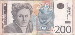 BILLETE DE SERBIA DE 200 DINARA DEL AÑO 2005 (BANKNOTE) - Servië