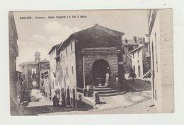 MORLUPO (LAZIO) CORSO UMBERTO I E VIA S.MARIA - CARTOLINA NON VIAGGIATA - ITALY POSTCARD - Roma