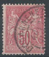 Lot N°37093  N°98, Oblit Cachet à Date De DOUARNENEZ ( Finistere ) - 1876-1898 Sage (Type II)