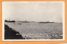 Guantanamo Bay Cuba 1918 Real Photo Postcard - Cuba