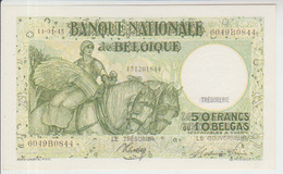 Belgium 50 Francs (11.01.1945) Pick 106 UNC - [ 2] 1831-... : Belgian Kingdom