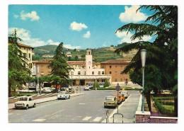 POGGIBONSI - PIAZZA MAZZINI - STAZIONE FERROVIARIA  VIAGGIATA FG - Siena