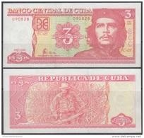 2006-BK-117 CUBA 3$ 2006 ERNESTO CHE GUEVARA UNC - Cuba