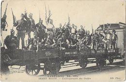 Campagne De 1914 - Armée Belge - Embarquement Des Guides - Guerre 1914-18