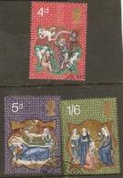Great Britain 1970 SG 838-49 Christmas   Fine Used - 1952-.... (Elizabeth II)