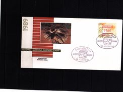 Australia 1990 ATM / Frama Label Interesting Cover - Vignette Di Affrancatura (ATM/Frama)