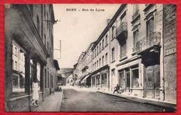 42 BOEN - Rue De Lyon - Petite Animation - R/v - Otros Municipios