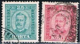 Horta, 1892/3, # 5, 7, Used - Horta