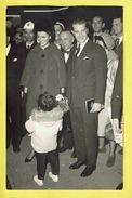 * Royalty - Royal Belgique * (Gevaert, Papeterie Robert) Carte Photo, Prince Albert Et Paola, Salon De L'auto 1961 - Königshäuser