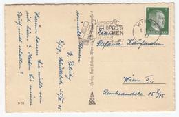 Verpackt Feldpost-Päckchen Gut Und Dauerhaft! Slogan Postmark On New Year Old Postcard Travelled 1944 B170907 - Cartas