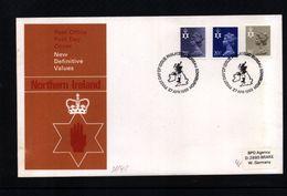 Great Britain / Grossbritannien 1983 Northern Ireland Regional  Definitive Stamps  FDC - FDC