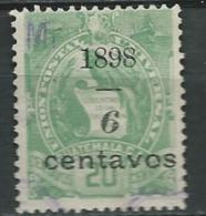 Guatemala  -   - Yvert N°  86 Oblitéré -  Ai25019 - Guatemala