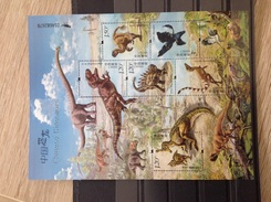 China - Postfris / MNH - Sheet Dinosauriërs 2017 - 1949 - ... Volksrepubliek
