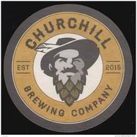 BEER MATS - Churchill Brewing Company, Saskatoon (*) (BM102) - Beer Mats