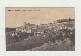 CORNETO TARQUINIA - LUNGO LE MURA DI VALVERDE - CARTOLINA NON VIAGGIATA - ITALY POSTCARD - Viterbo