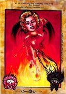 CPM Jihel Tirage Signé Numéroté En 30 Exemplaires Peladan ésotérisme Marilyn Satanique - Glaube, Religion, Kirche