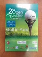 Calvin Klein Cosmetique Carte Postale. - Perfume Cards