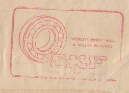 "Pakistan 1972 Special Meter Mark ""WORLD'S FINEST BALL & ROLLER BEARINGS"" On Window Cover - Pakistan"